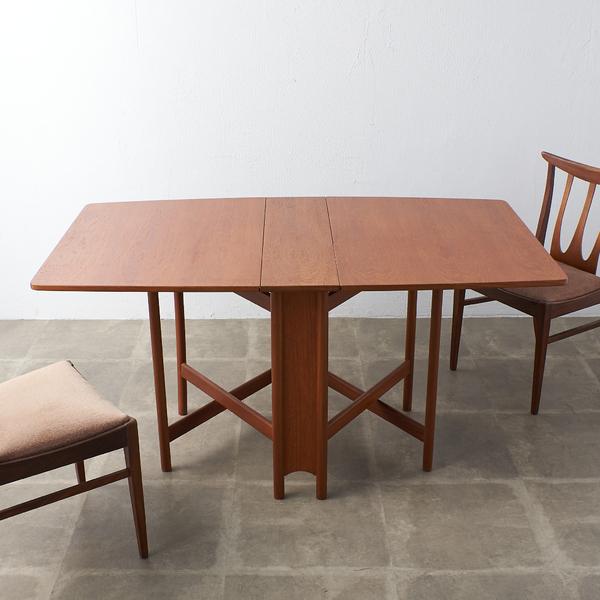 マッキントッシュ A.H.McINTOSH ドロップリーフゲートレッグテーブル