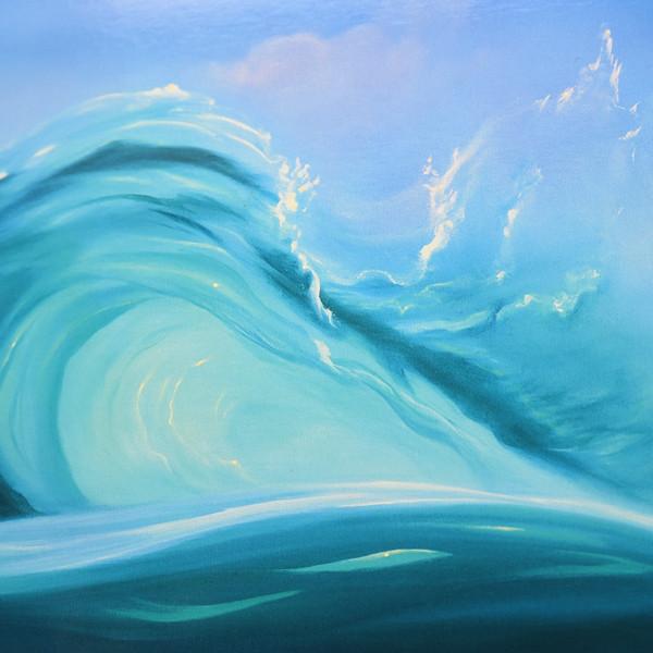 ダナ クイーン [ SURFING DOLPHINS ] リトグラフ
