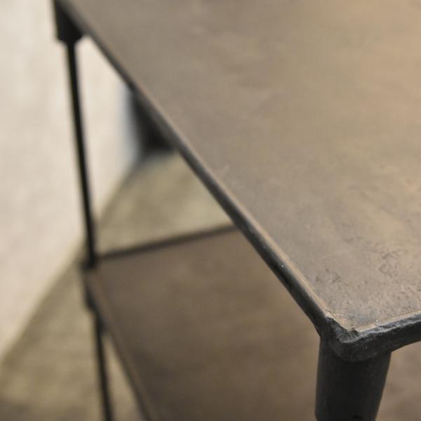 #40137 インダストリアル 鉄製 オープンシェルフ コンディション画像 - 2