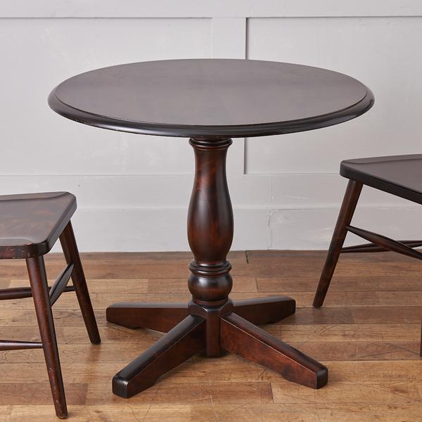 北海道民芸家具 HM472 円形テーブル80