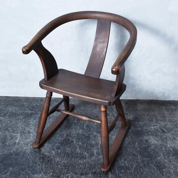 曲木肘掛揺椅子(ロッキングチェア)