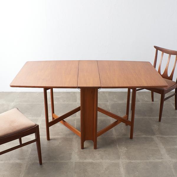 マッキントッシュ A.H.McINTOSH ドロップリーフ ゲートレッグテーブル