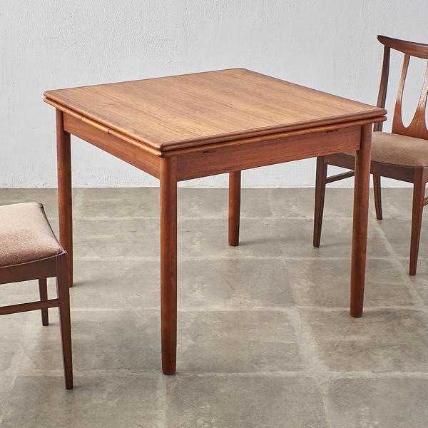 デンマーク製 ヴィンテージ ドローリーフテーブル