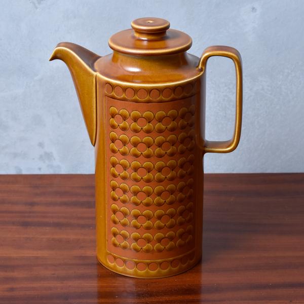 ホーンジー Hornsea Pottery SAFFRON コーヒーポット