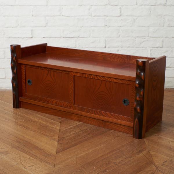 欅材 置床