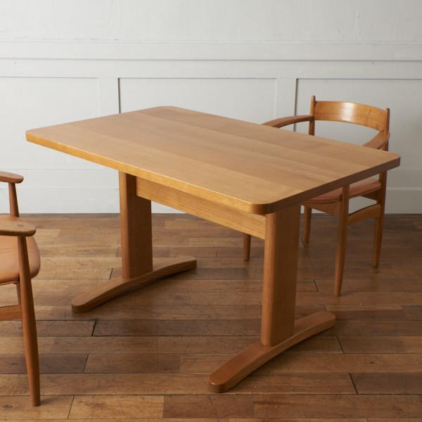 柏木工 kashiwa ウィンザー オーク無垢材 ダイニングテーブル