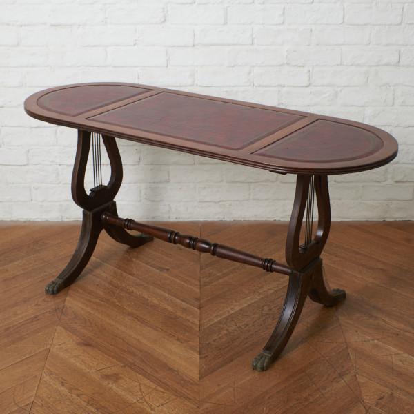 英国アンティーク ハープモチーフ サイドテーブル