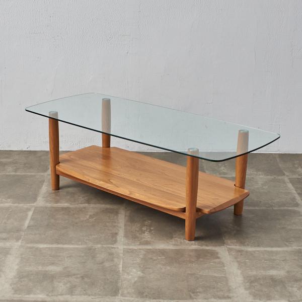 アーコール ERCOL ガラストップ コーヒーテーブル