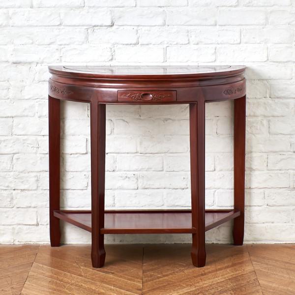 シノワズリー 花梨材 コンソールテーブル