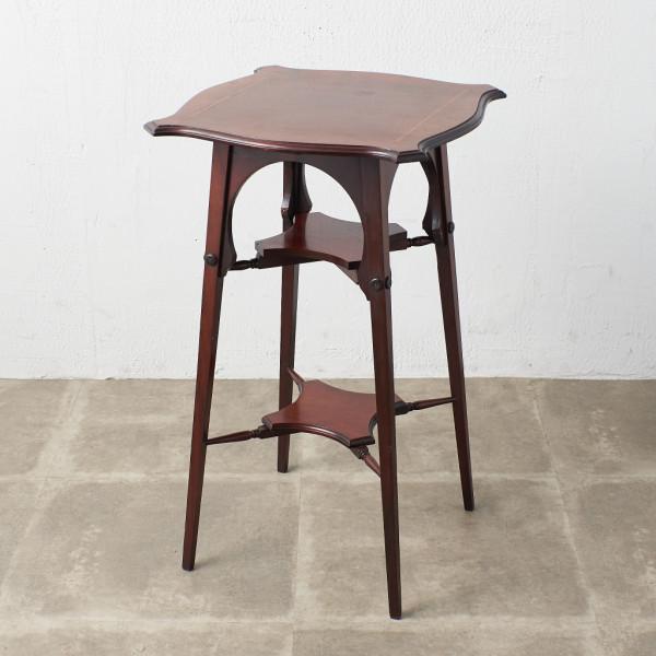 英国アンティーク マホガニー材 サイドテーブル