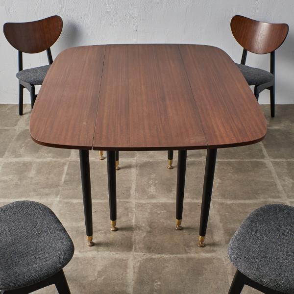 ジープラン G-PLAN (エベネゼル・グーム Ebenezer Gomme) Tola&Black ゲートレッグ ダイニングテーブル