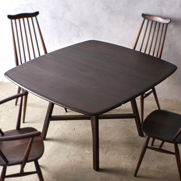 アーコール ERCOL オールドコロニアル ドロップリーフテーブル No.387