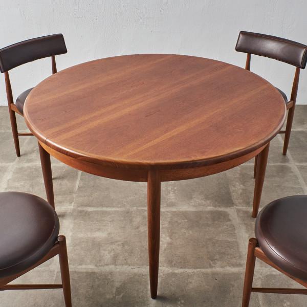 ジープラン G-PLAN エクステンション ラウンドダイニングテーブル
