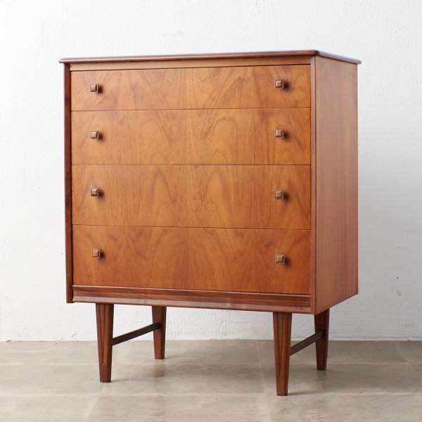 ホームウォージー ギャランティード ファニチャー Homeworthy guaranteed furniture ヴィンテージ 4段チェスト