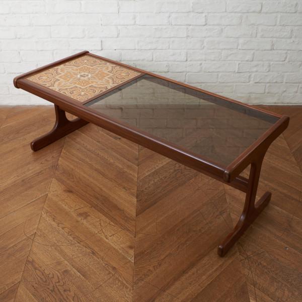 ジープラン G-PLAN タイル&ガラストップ コーヒテーブル