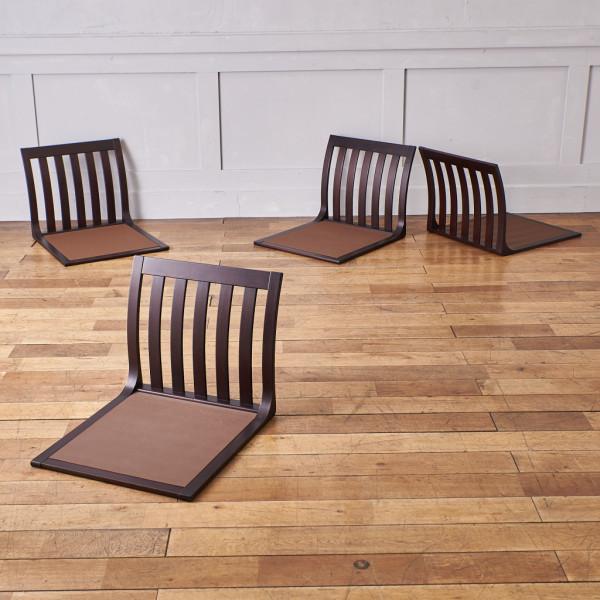 天童木工 Tendo SUMI T-5313 座椅子 4脚セット