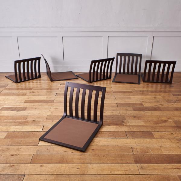 天童木工 Tendo SUMI T-5313 座椅子 6脚セット