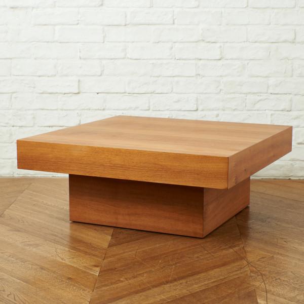 広松木工 FXテーブル 7575H ウォールナット