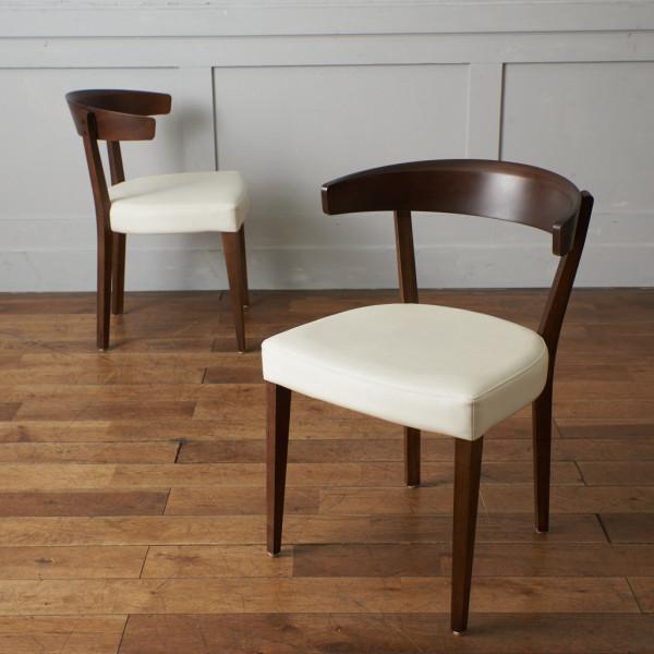 カリモク karimoku スタンダードモダン 食堂椅子 2脚セット