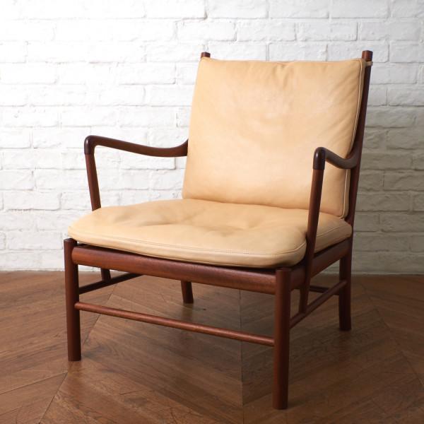 PJ ファニチャー PJ Furniture (P.Jeppesens Mobelfabrik) PJ149 コロニアルチェア / 本革xマホガニー
