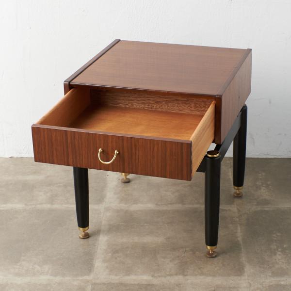 ジープラン G-PLAN (エベネゼル・グーム Ebenezer Gomme) Tola&black ベッドサイドテーブル 206