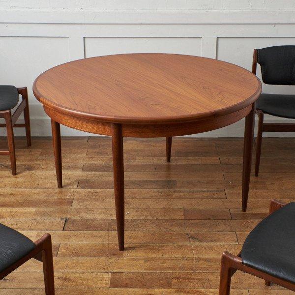 ジープラン G-PLAN Fresco エクステンション ラウンドダイニングテーブル