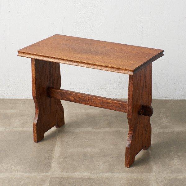 オランダ民芸家具 オーク無垢材 コーヒーテーブル