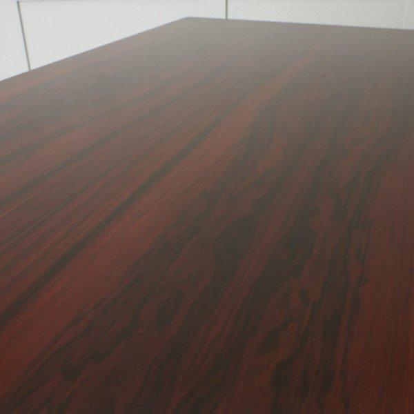 #42783 北欧ヴィンテージ ローズウッド材 ドローリーフテーブル コンディション画像 - 3