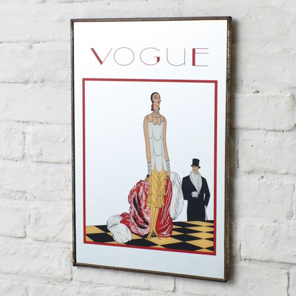 ヴォーグ VOGUE LICENSER ART&CRAFT ヴィンテージ パブミラー