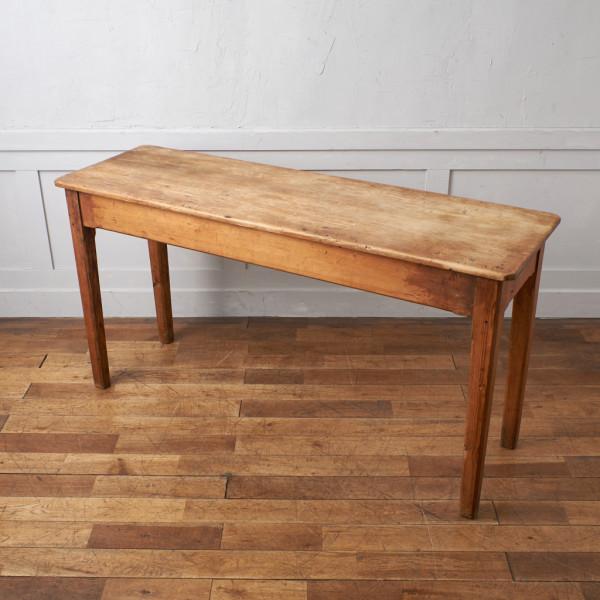 オールドパイン 無垢材 カウンターテーブル