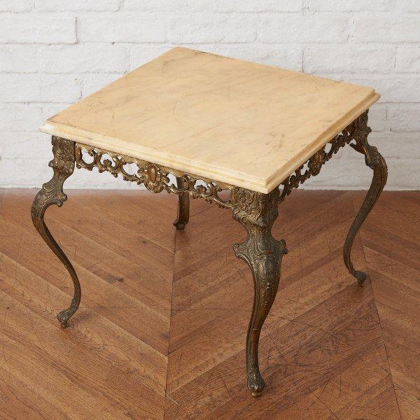 西洋クラシック サイドテーブル
