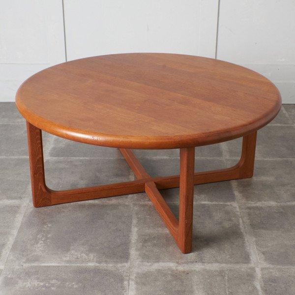 ニールス・バッハ Niels Bach チーク材 ラウンドコーヒーテーブル