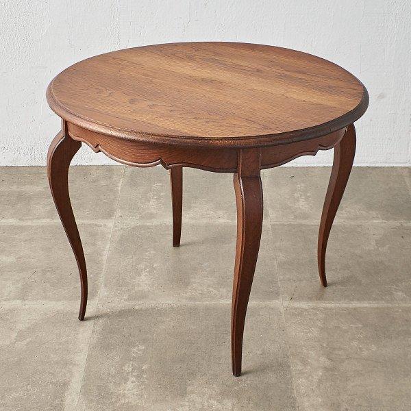 英国アンティーク ラウンド カフェテーブル
