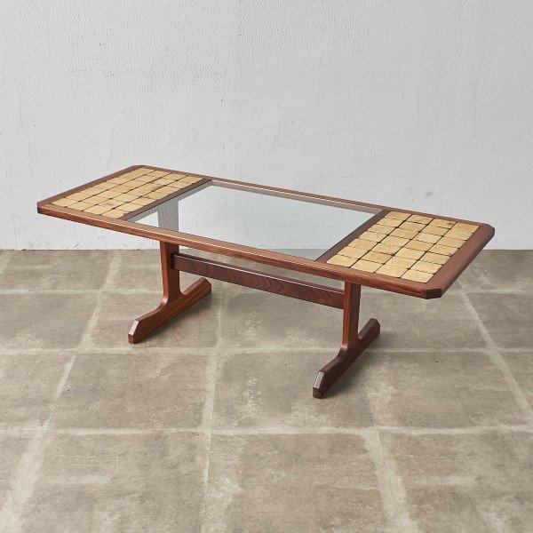 ジープラン G-PLAN タイル&ガラストップ コーヒテーブル (3586D)