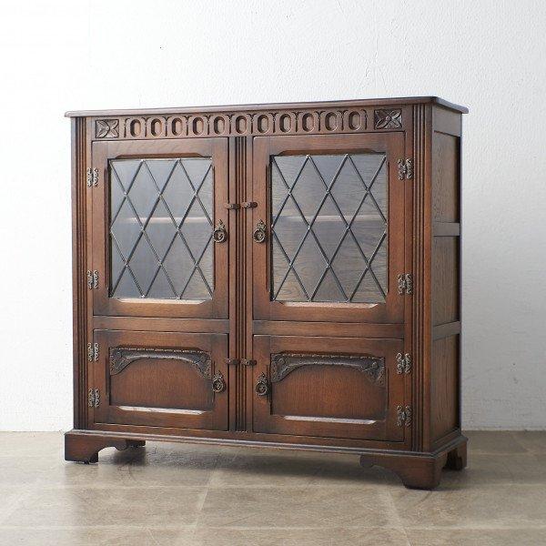 スタンレー ウッド オブ オルニー Stanley Wood of Olney 英国製 オーク ブックケース