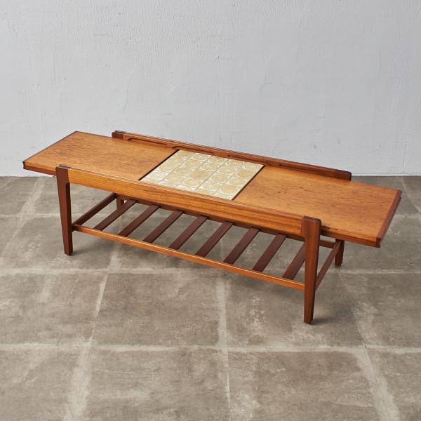 レンプロイ Remploy スライディング タイルトップ コーヒーテーブル