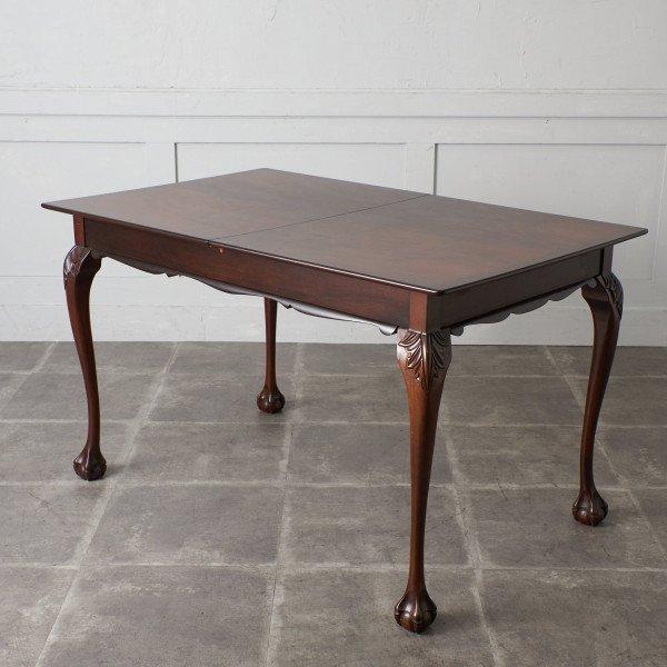 英国アンティークスタイル ウォールナット材 ダイニングテーブル