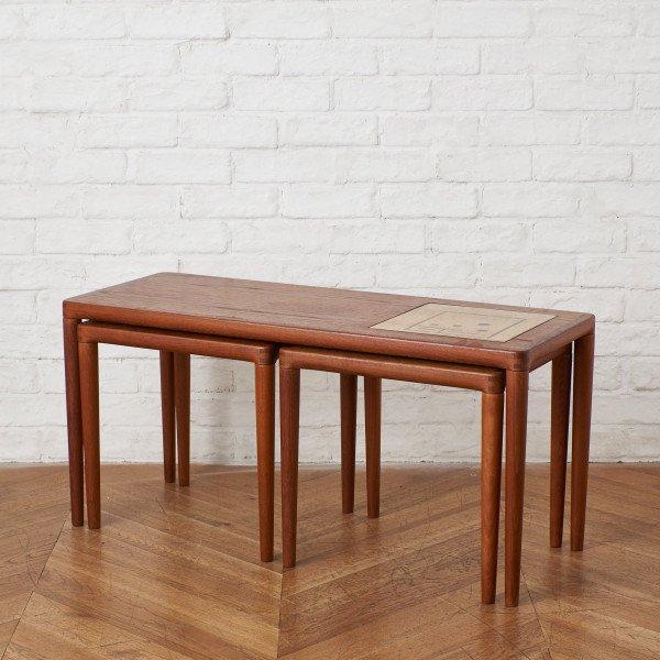 ブラーミン BRAMIN デンマーク製 ヴィンテージ ネストコーヒーテーブル