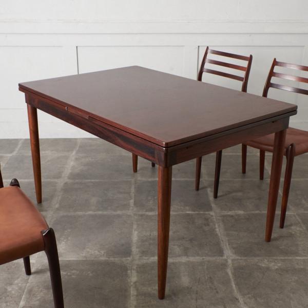 ジェイエルモラー J.L.Moller ヴィンテージ ローズウッド材 エクステンションテーブル