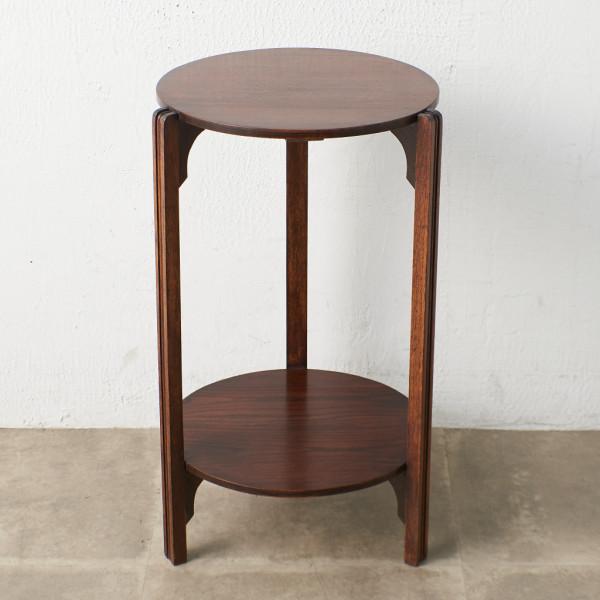 HOMETTES 英国アンティーク アールデコ様式 サイドテーブル