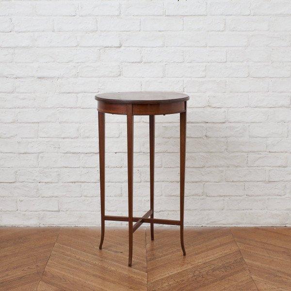 英国製 マホガニー材 クラシック サイドテーブル