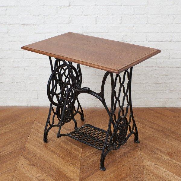 フランス製 ミシン脚テーブル