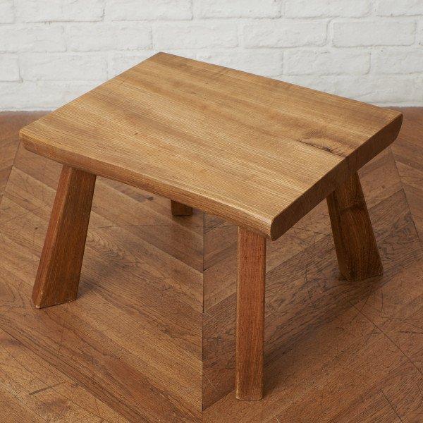 ケヤキ無垢材 サイドテーブル