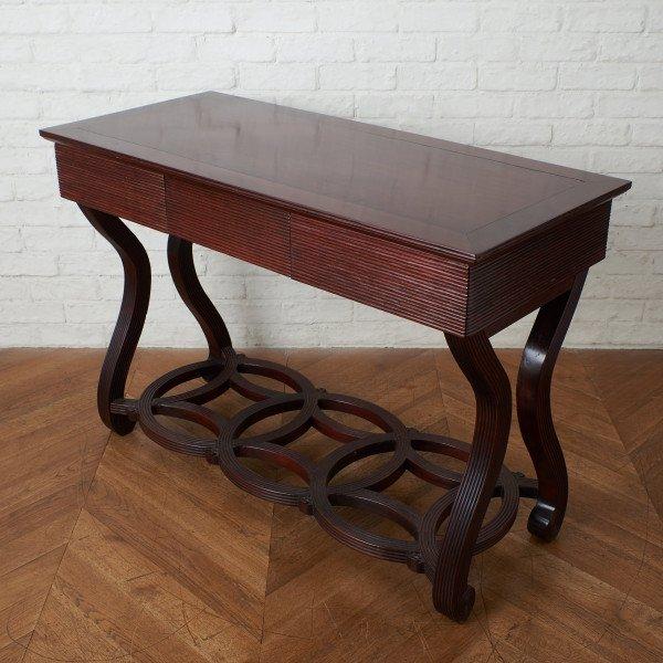 西洋クラシック ローズウッド コンソール テーブル