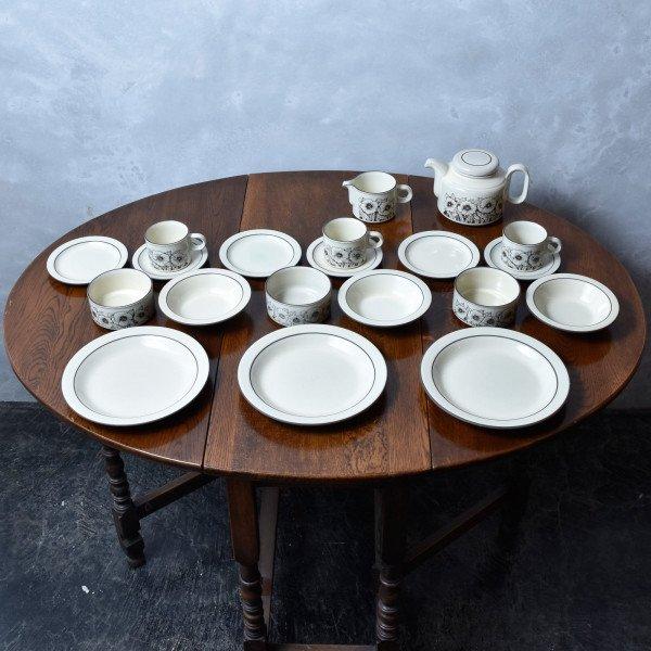 ホーンジー Hornsea Pottery CORNROSE ディナーセット 20点