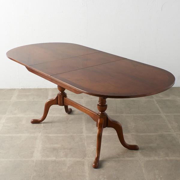 英国製 リージェンシー エクステンションダイニングテーブル