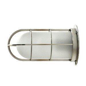 NAVE-DK-SC デッキライト シルバー ツヤ消しガラス