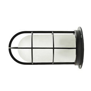 NAVE-DK-BC デッキライト ブラック ツヤ消しガラス