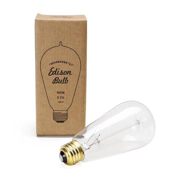 """Edison Bulb """"Signature"""" L 40W E26"""