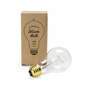 "Edison Bulb ""A-Shape"" S 40W E26"